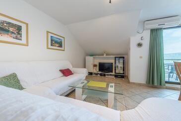 Mastrinka, Гостиная в размещении типа apartment, доступный кондиционер, Домашние животные допускаются и WiFi.