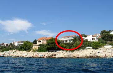 Ražanj, Rogoznica, Obiekt 2054 - Apartamenty przy morzu.