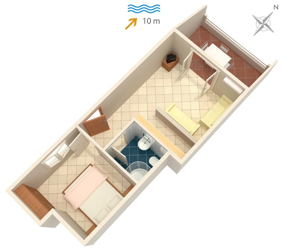 Holiday apartment im Ort Basina (Hvar), Kapazität 2+2 (1880055), Vrbanj, Island of Hvar, Dalmatia, Croatia, picture 11