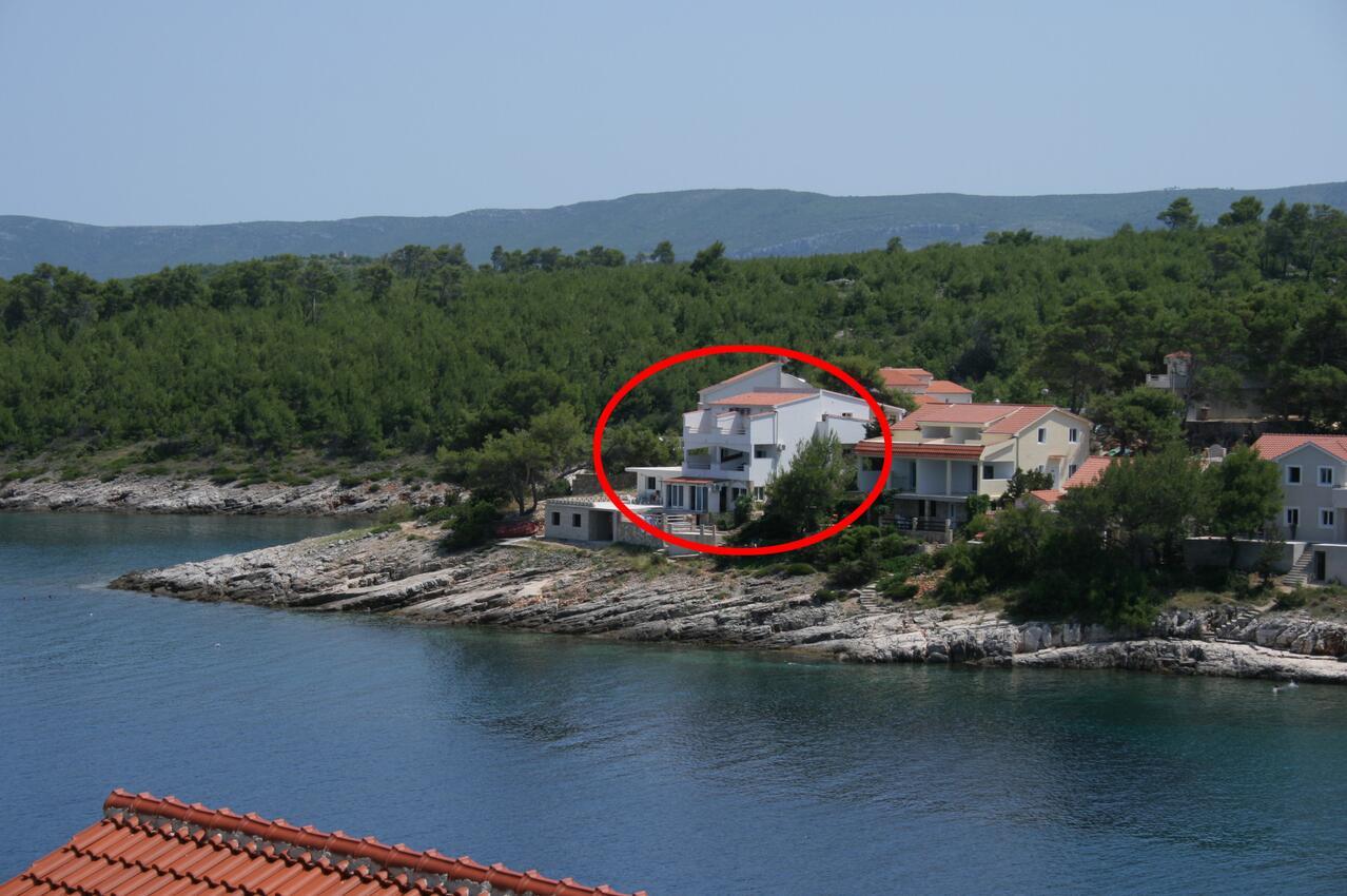 Holiday apartment im Ort Basina (Hvar), Kapazität 2+2 (1880055), Vrbanj, Island of Hvar, Dalmatia, Croatia, picture 1