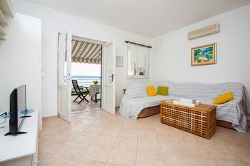 Rastići, Camera di soggiorno nell'alloggi del tipo apartment, condizionatore disponibile e WiFi.