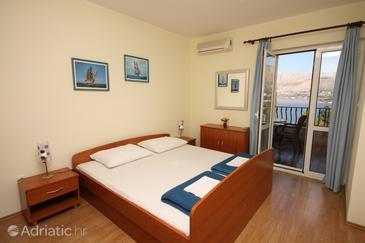 Cavtat, Bedroom in the room.