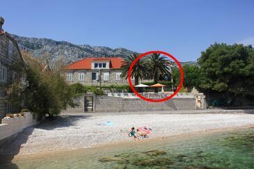 Orebić, Pelješac, Objekt 2130 - Ubytovanie blízko mora s kamienkovou plážou.