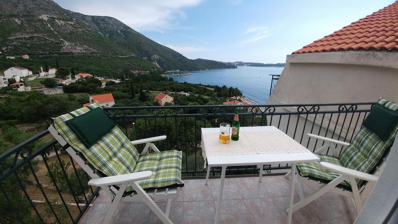 Appartement de vacances Studio Appartment im Ort Plat (Dubrovnik), Kapazität 2+1 (2077391), Plat, , Dalmatie, Croatie, image 11