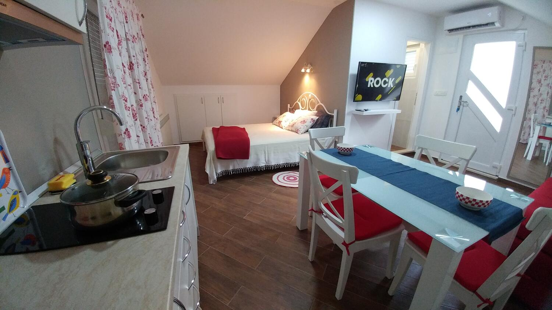 Appartement de vacances Studio Appartment im Ort Plat (Dubrovnik), Kapazität 2+1 (2077391), Plat, , Dalmatie, Croatie, image 6