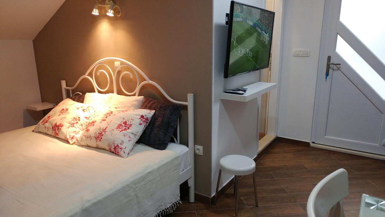 Appartement de vacances Studio Appartment im Ort Plat (Dubrovnik), Kapazität 2+1 (2077391), Plat, , Dalmatie, Croatie, image 7