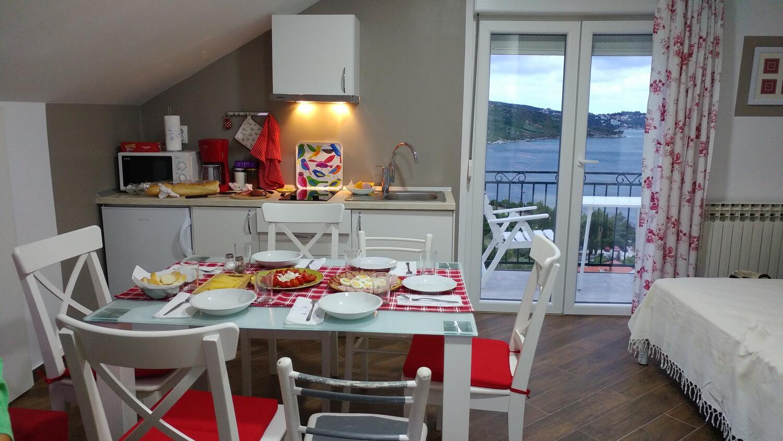 Appartement de vacances Studio Appartment im Ort Plat (Dubrovnik), Kapazität 2+1 (2077391), Plat, , Dalmatie, Croatie, image 3