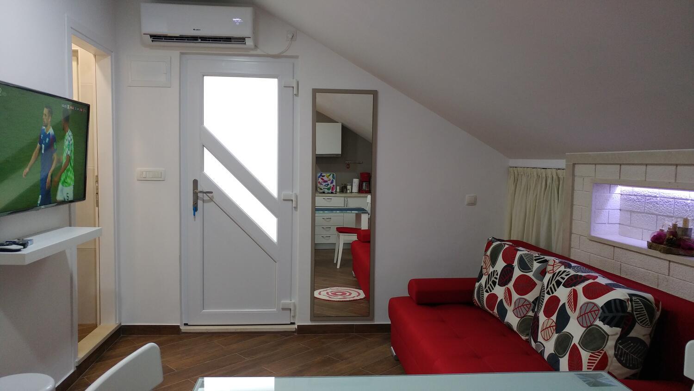 Appartement de vacances Studio Appartment im Ort Plat (Dubrovnik), Kapazität 2+1 (2077391), Plat, , Dalmatie, Croatie, image 2