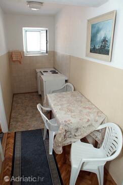 Molunat, Blagovaonica u smještaju tipa apartment, kućni ljubimci dozvoljeni i WiFi.
