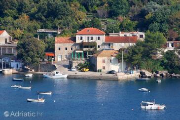 Molunat, Dubrovnik, Objekt 2139 - Apartmani i sobe blizu mora sa pješčanom plažom.