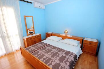Dubrovnik, Sypialnia w zakwaterowaniu typu room, dostupna klima i dopusteni kucni ljubimci.