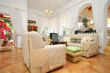 Mlini, Pokój dzienny 1 w zakwaterowaniu typu house, dostupna klima i WIFI.