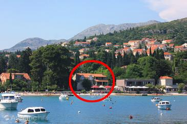 Srebreno, Dubrovnik, Property 2146 - Apartments near sea with pebble beach.