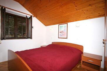 Slađenovići, Spavaća soba u smještaju tipa room, dostupna klima i WiFi.