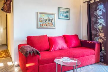 Osibova, Pokój dzienny w zakwaterowaniu typu apartment, dostupna klima i WIFI.