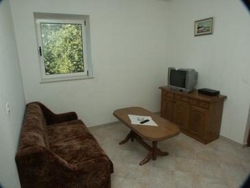 Suđurađ, Obývací pokoj v ubytování typu apartment, WIFI.