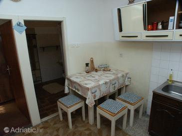 Suđurađ, Dining room in the apartment.