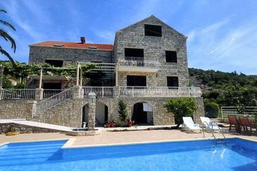 Orašac, Dubrovnik, Property 2177 - Apartments with pebble beach.