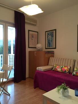 Slano, Pokój dzienny w zakwaterowaniu typu apartment, air condition available, zwierzęta domowe są dozwolone i WiFi.