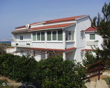 Pag, Pag, Property 218 - Apartments near sea with sandy beach.