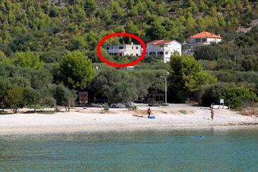 Prižba, Korčula, Property 219 - Apartments in Croatia.