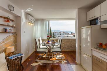 Split, Столовая в размещении типа apartment, доступный кондиционер и WiFi.