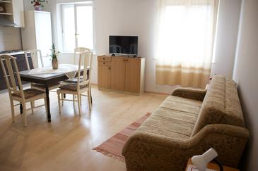 Split, Sala de estar in the apartment, air condition available.
