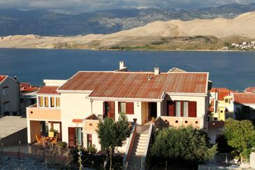 Pag, Pag, Property 220 - Apartments with sandy beach.
