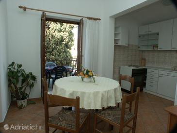 Rovinj, Dining room in the apartment, dopusteni kucni ljubimci.
