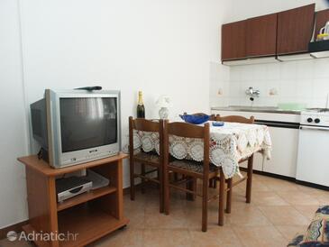 Rovinj, Dining room in the apartment, dopusteni kucni ljubimci.