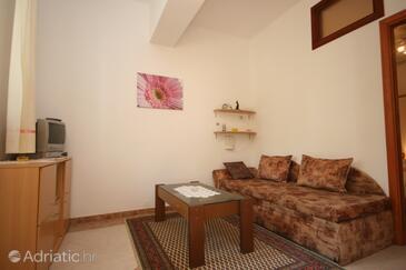 Poreč, Living room in the studio-apartment, WIFI.