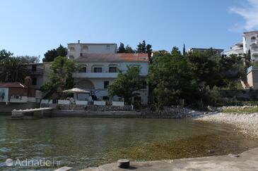 Potočnica, Pag, Objekt 222 - Ubytování v blízkosti moře s oblázkovou pláží.