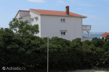 Povljana, Pag, Property 224 - Apartments with sandy beach.