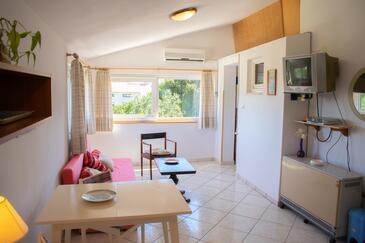Medulin, Dnevna soba v nastanitvi vrste apartment, dostopna klima in WiFi.