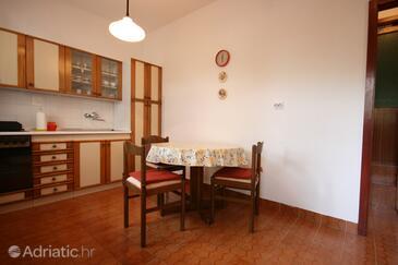 Povljana, Столовая в размещении типа apartment, WiFi.