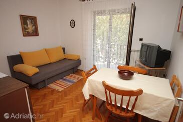Rovinj, Столовая в размещении типа apartment, Домашние животные допускаются и WiFi.