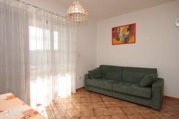 Premantura, Obývací pokoj v ubytování typu apartment, WIFI.