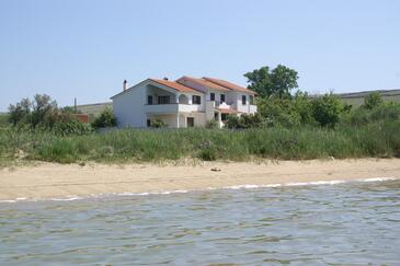 Povljana, Pag, Object 230 - Appartementen near sea with sandy beach.