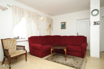Opatija, Living room in the apartment.