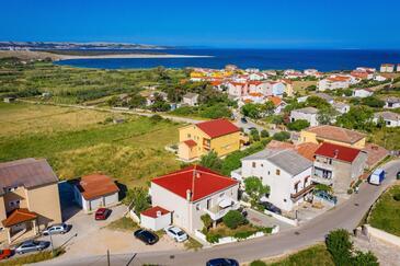 Povljana, Pag, Property 232 - Apartments with sandy beach.