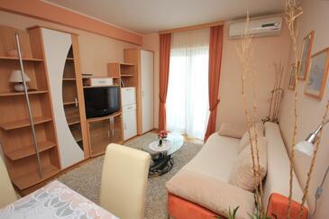 Ičići, Pokój dzienny w zakwaterowaniu typu apartment, WIFI.