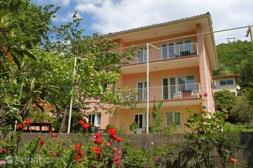 Mošćenička Draga, Opatija, Property 2327 - Apartments with pebble beach.
