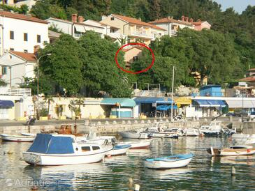 Rabac, Labin, Property 2330 - Apartments near sea with pebble beach.