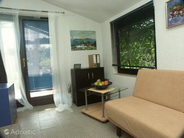 Ročko Polje, Obývací pokoj 1 v ubytování typu house, dopusteni kucni ljubimci.
