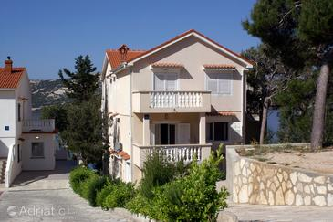 Stara Novalja, Pag, Property 234 - Apartments near sea with sandy beach.