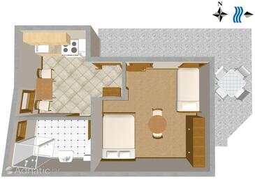 Ika, Plan in the apartment, WIFI.
