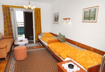 Selce, Bedroom in the room.