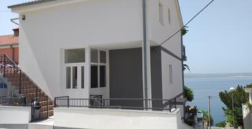 Dramalj, Crikvenica, Property 2376 - Apartments near sea with pebble beach.