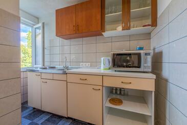 Selce, Kitchen in the apartment, dopusteni kucni ljubimci i WIFI.