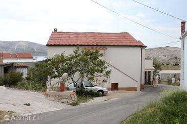 Zubovići, Pag, Property 239 - Apartments near sea with pebble beach.